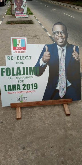 Check Out This Campaign Poster Of Lai Mohammed